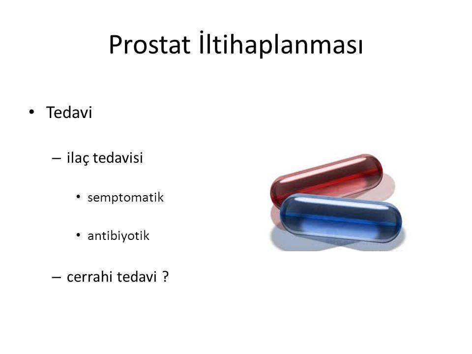 Prostat İltihaplanması