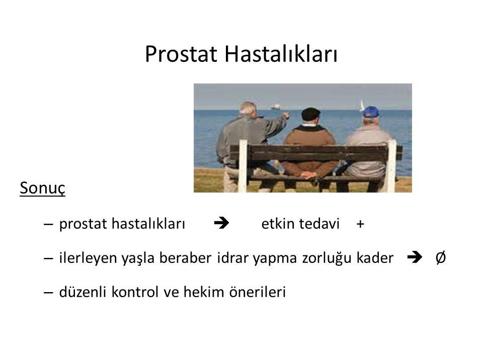 Prostat Hastalıkları Sonuç prostat hastalıkları  etkin tedavi +