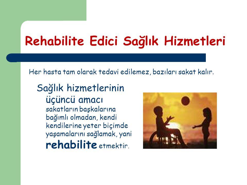 Rehabilite Edici Sağlık Hizmetleri
