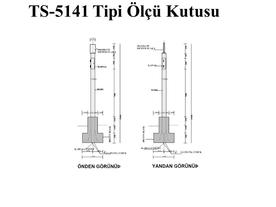 TS-5141 Tipi Ölçü Kutusu