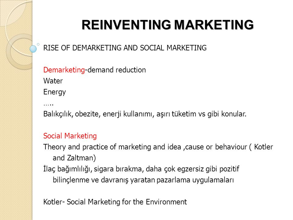 REINVENTING MARKETING