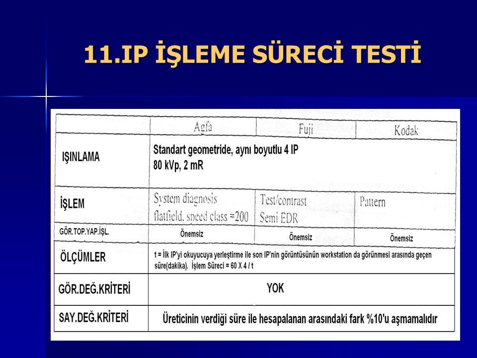 11.IP İŞLEME SÜRECİ TESTİ