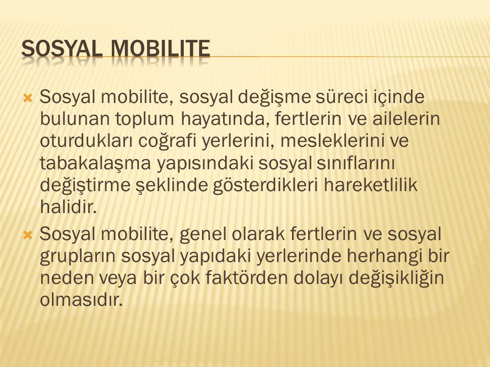 Sosyal Mobilite