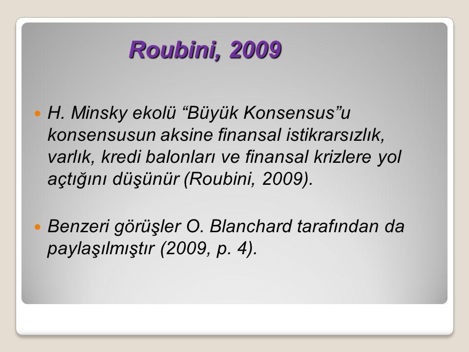 Roubini, 2009