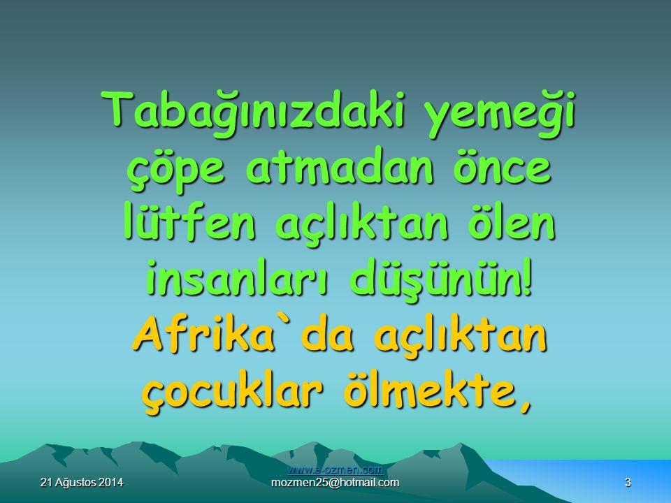 www.e-ozmen.com mozmen25@hotmail.com