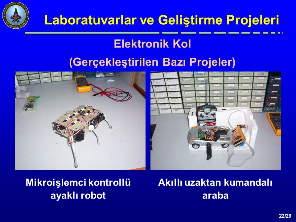 Laboratuvarlar ve Geliştirme Projeleri