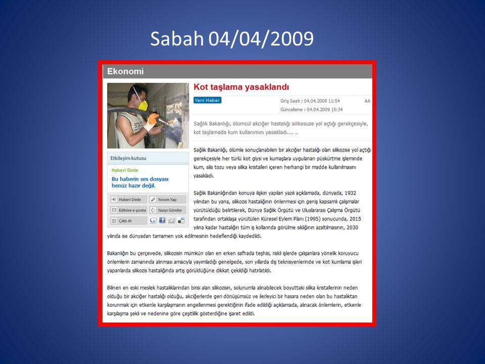 Sabah 04/04/2009