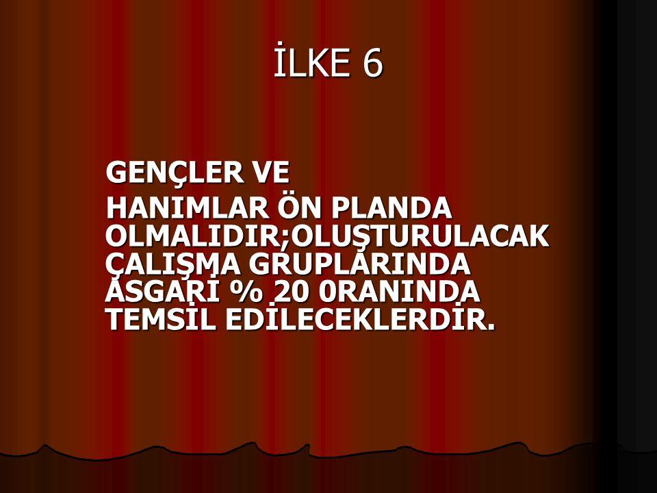 İLKE 6 GENÇLER VE.