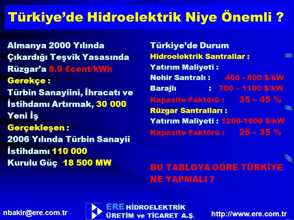 Türkiye'de Hidroelektrik Niye Önemli