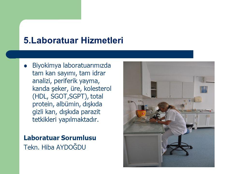 5.Laboratuar Hizmetleri