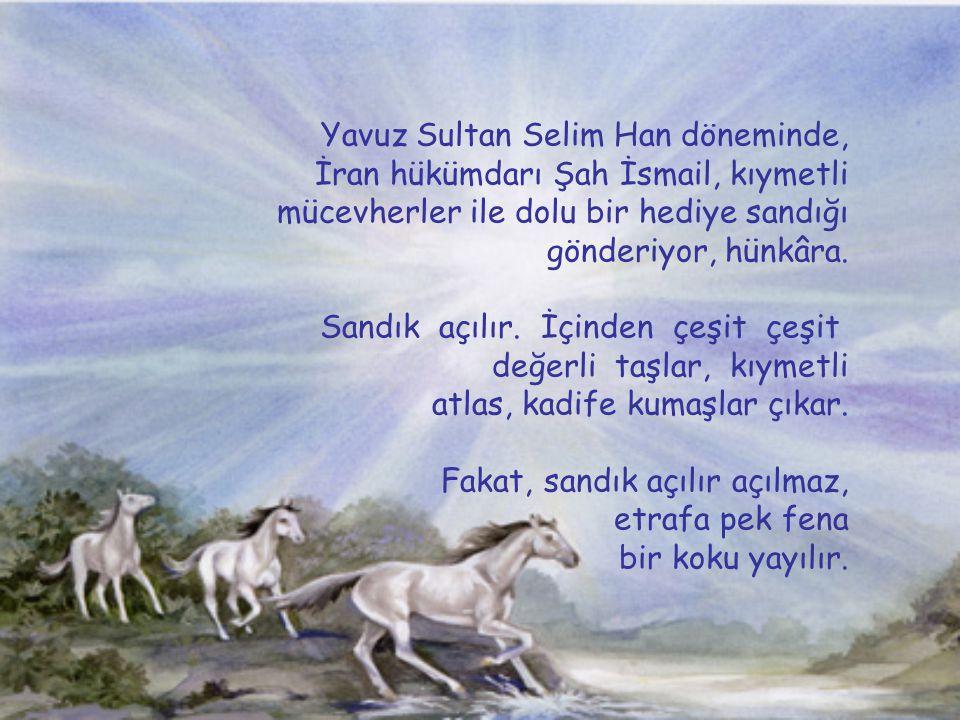 Yavuz Sultan Selim Han döneminde,
