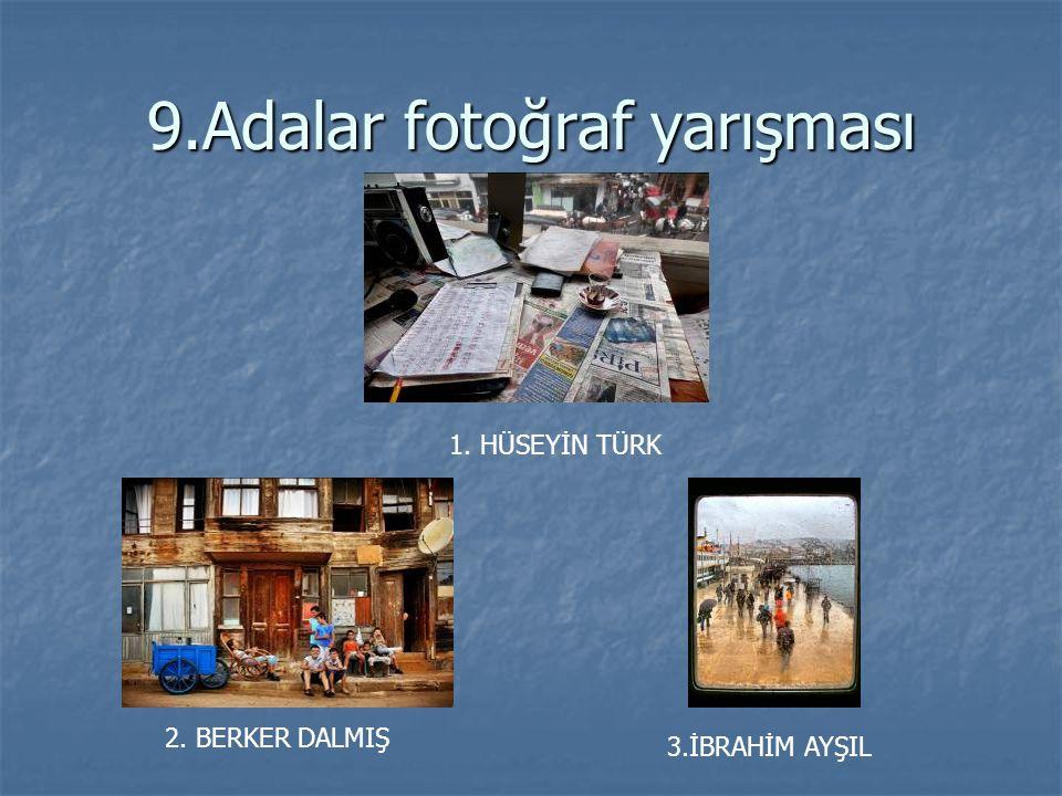 9.Adalar fotoğraf yarışması