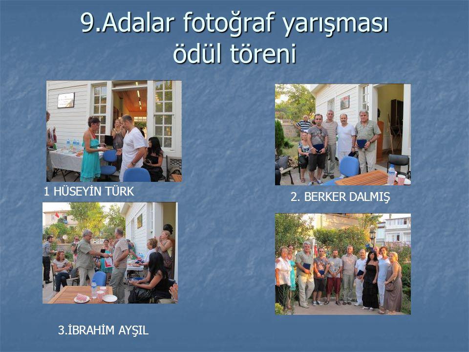 9.Adalar fotoğraf yarışması ödül töreni