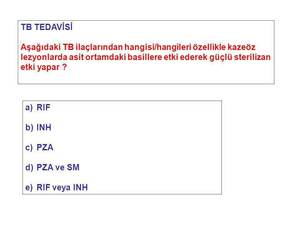 TB TEDAVİSİ