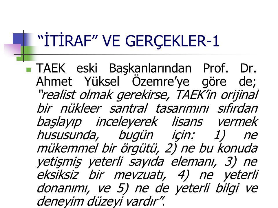 İTİRAF VE GERÇEKLER-1