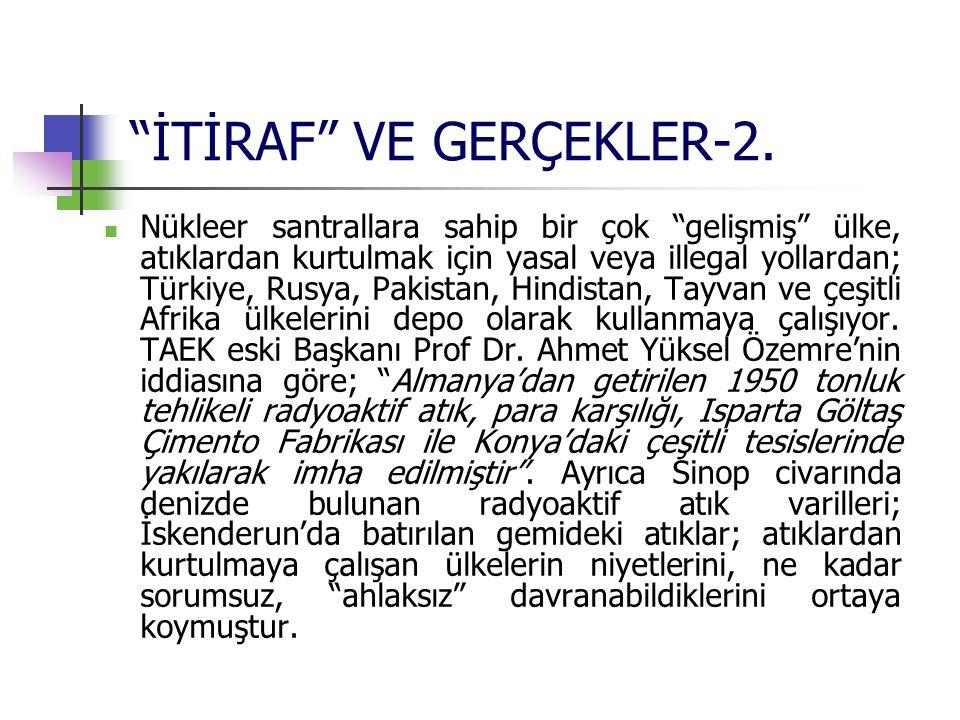 İTİRAF VE GERÇEKLER-2.