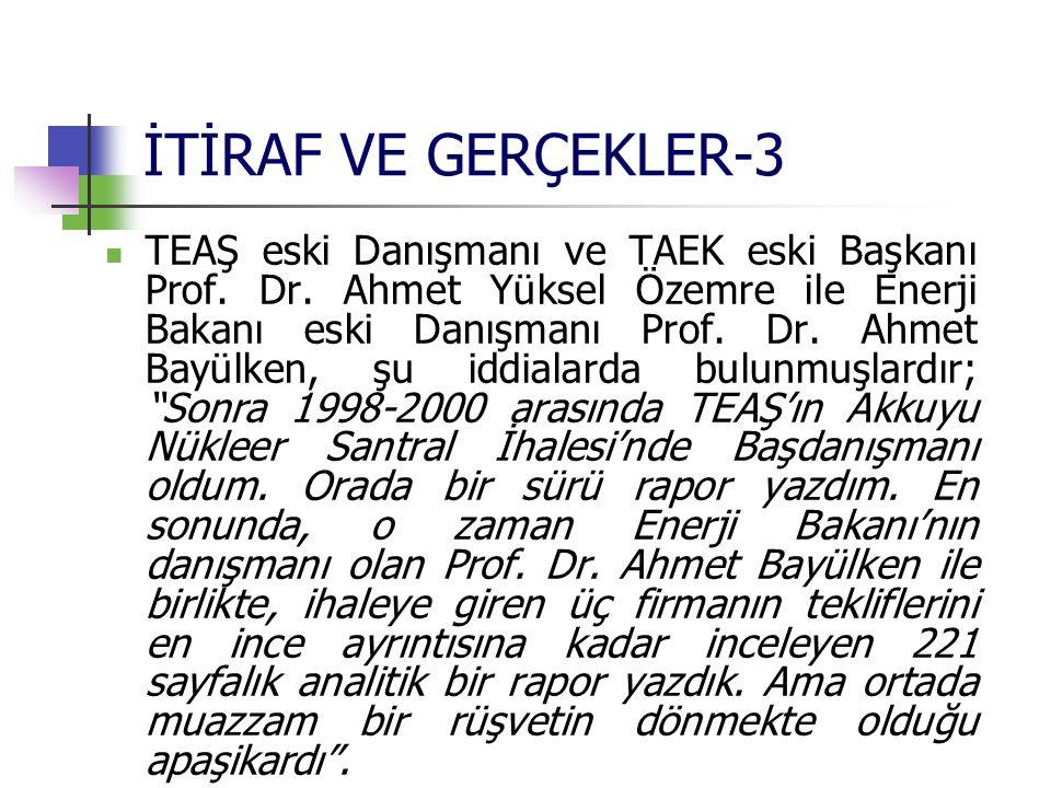 İTİRAF VE GERÇEKLER-3