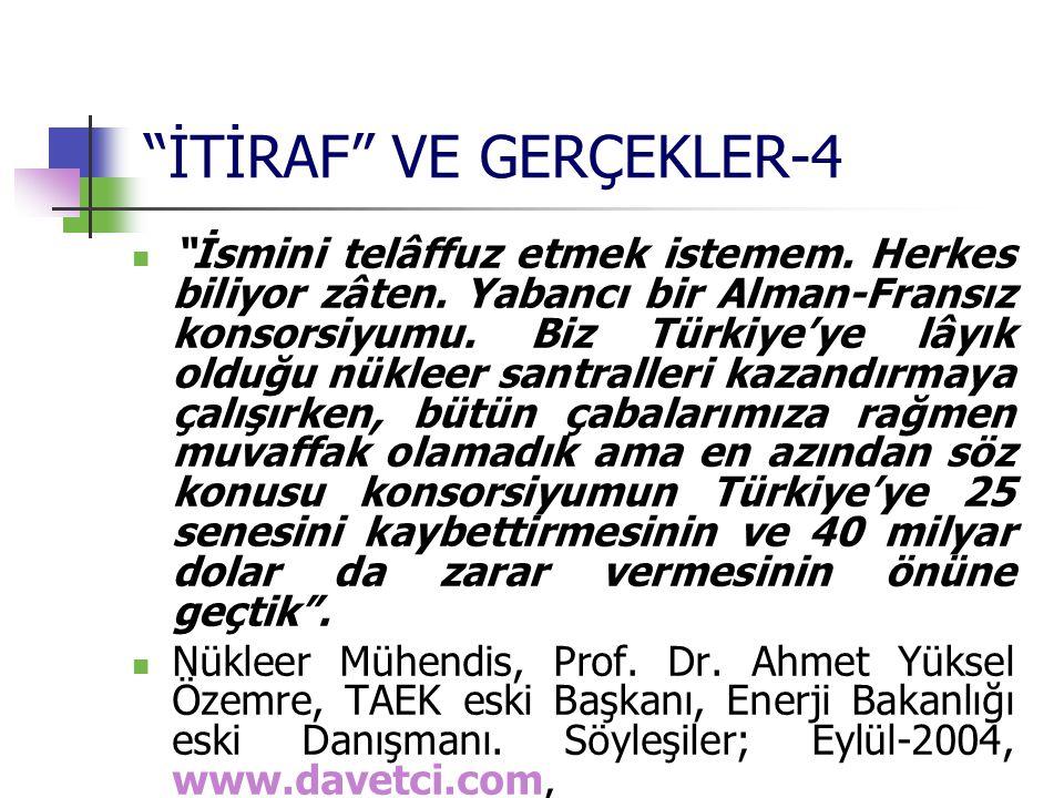 İTİRAF VE GERÇEKLER-4