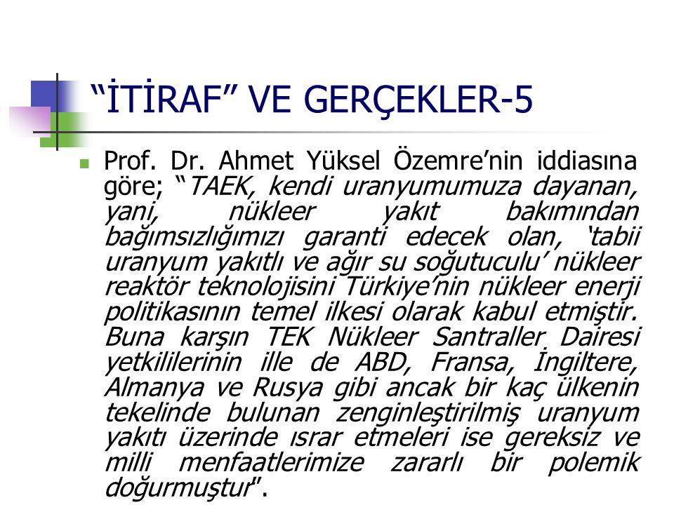 İTİRAF VE GERÇEKLER-5