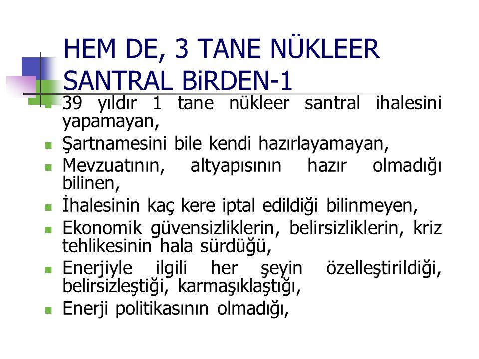 HEM DE, 3 TANE NÜKLEER SANTRAL BiRDEN-1