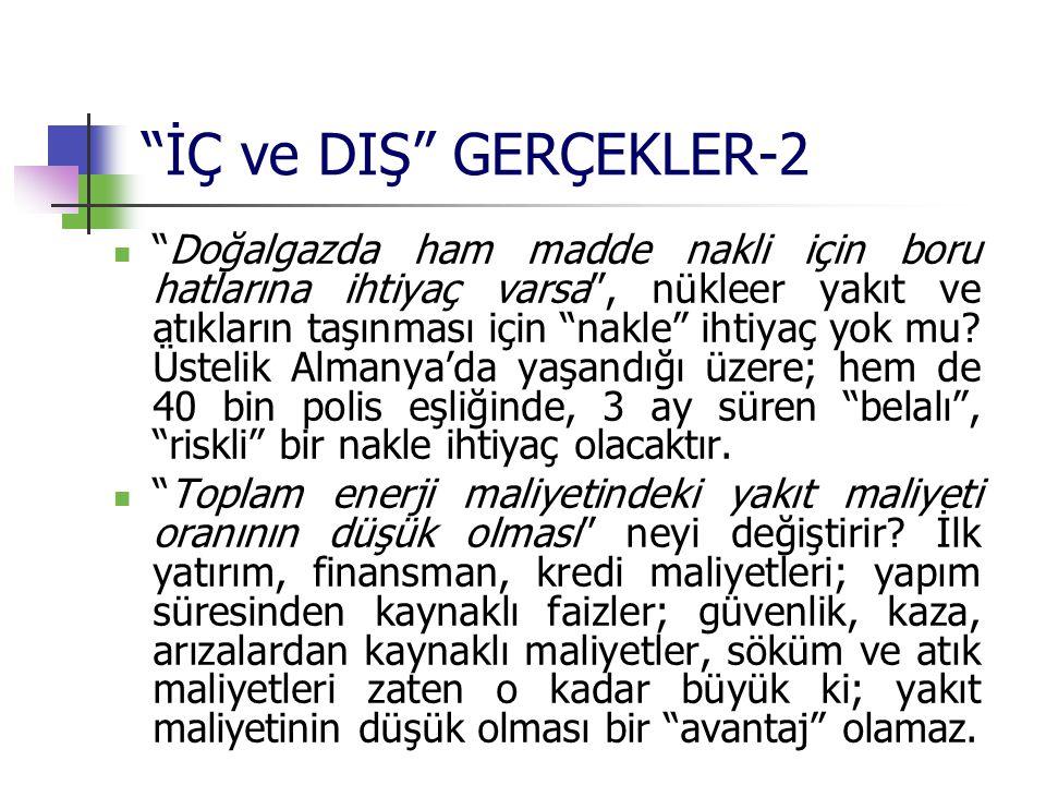 İÇ ve DIŞ GERÇEKLER-2