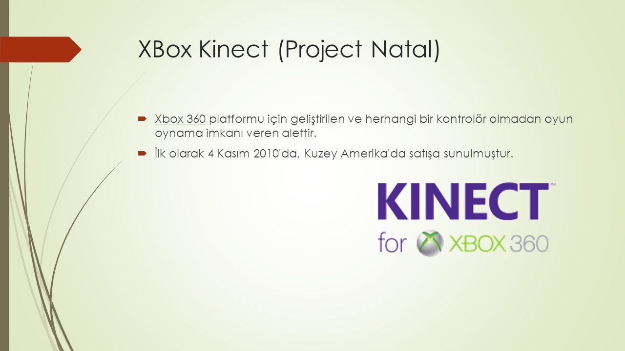 XBox Kinect (Project Natal)