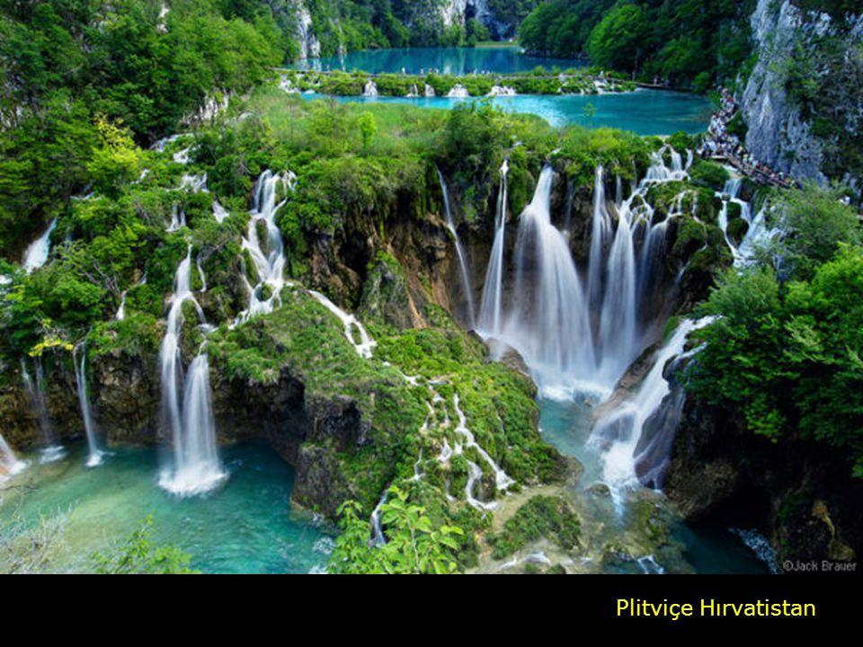 Plitviçe Hırvatistan