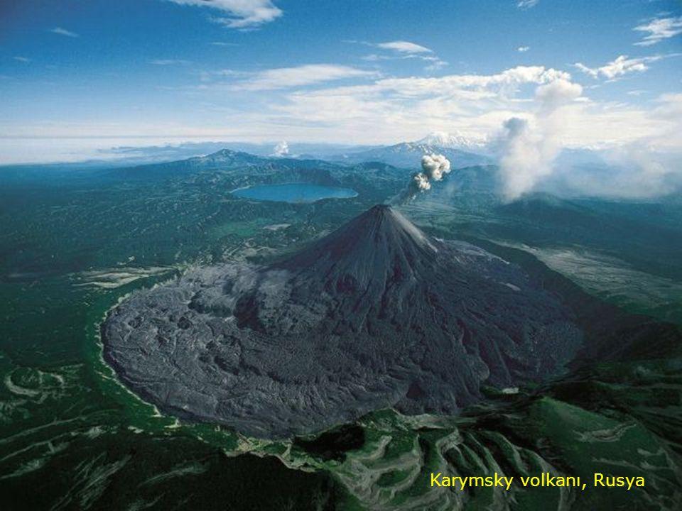 Karymsky volkanı, Rusya