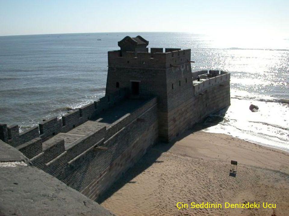 Çin Seddinin Denizdeki Ucu