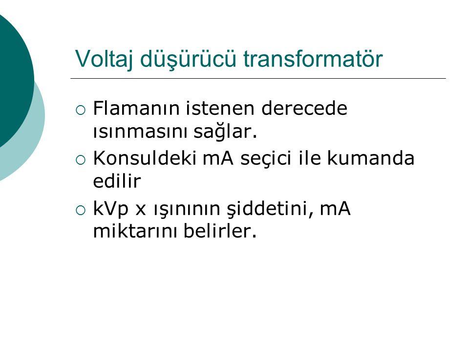 Voltaj düşürücü transformatör