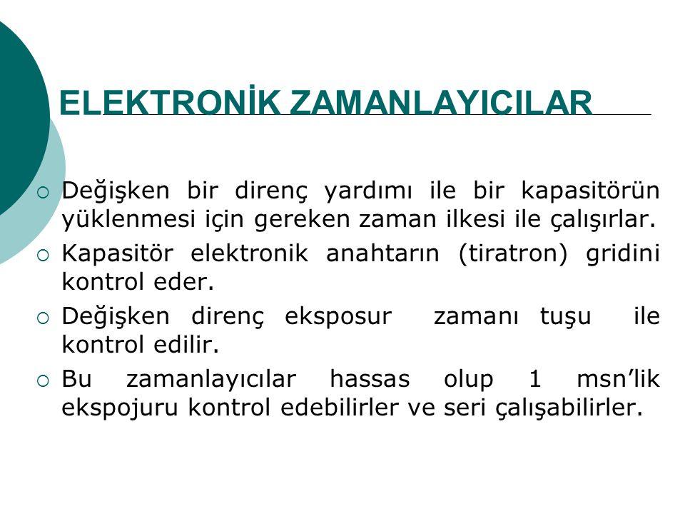 ELEKTRONİK ZAMANLAYICILAR