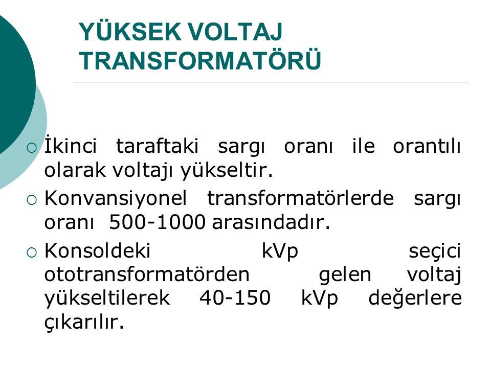 YÜKSEK VOLTAJ TRANSFORMATÖRÜ