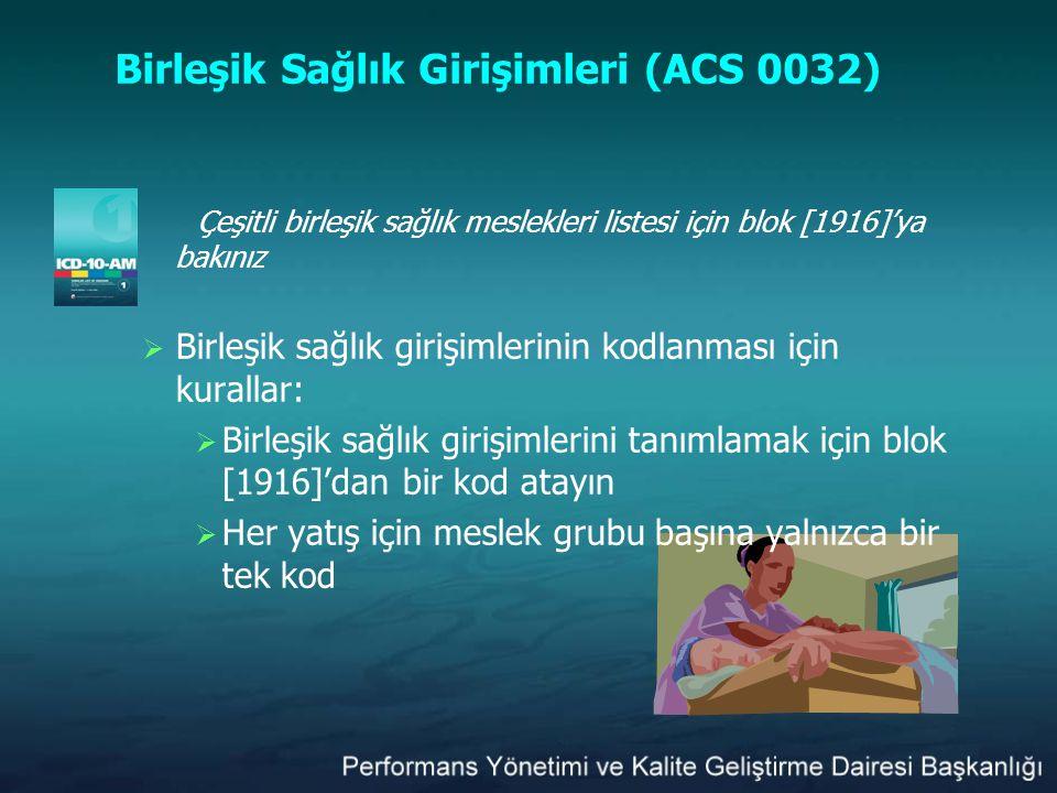 Birleşik Sağlık Girişimleri (ACS 0032)