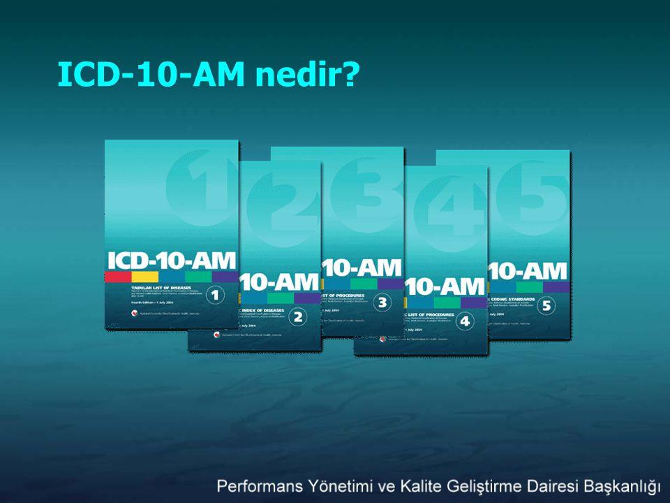 ICD-10-AM nedir