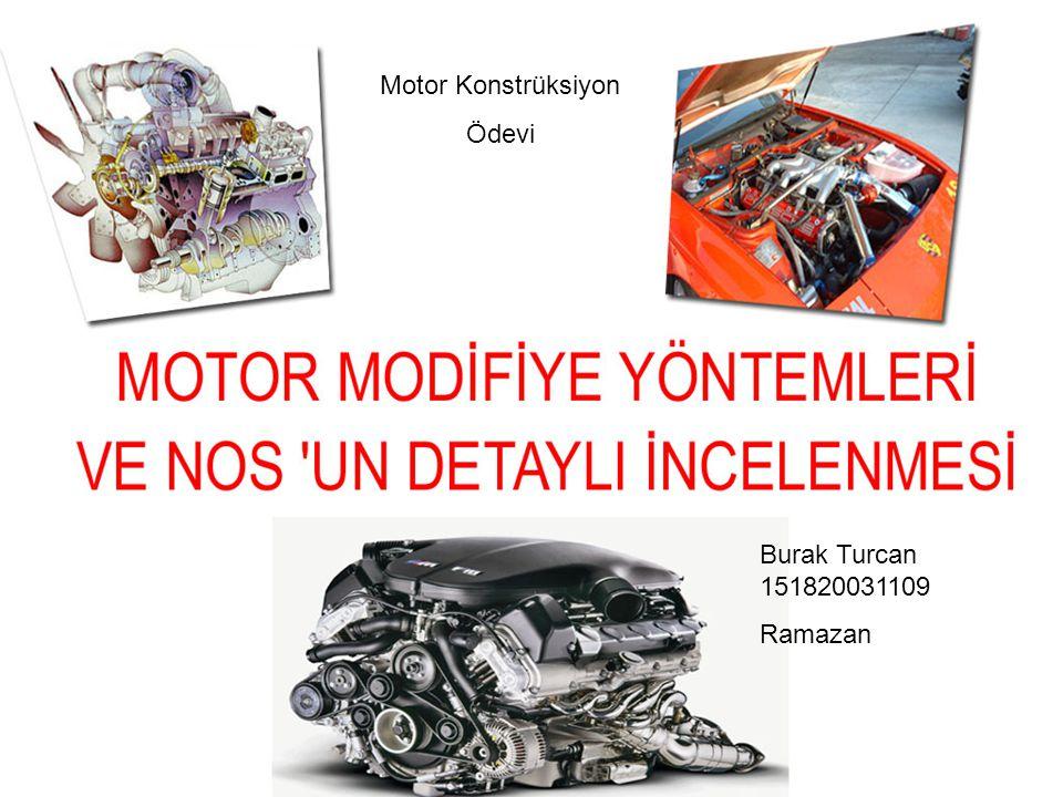 Motor Konstrüksiyon Ödevi Burak Turcan 151820031109 Ramazan