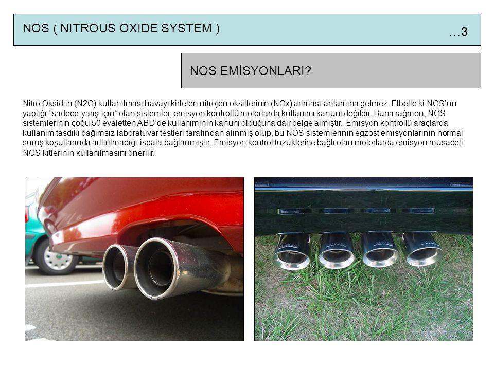 NOS ( NITROUS OXIDE SYSTEM ) …3