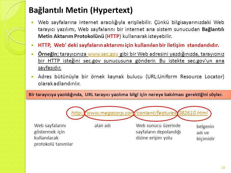Bağlantılı Metin (Hypertext)