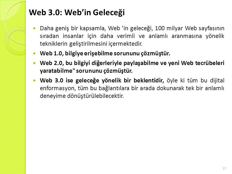 Web 3.0: Web'in Geleceği
