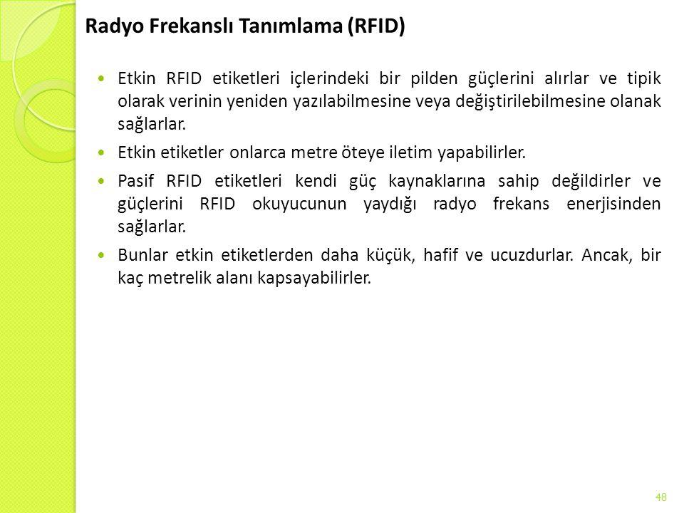 Radyo Frekanslı Tanımlama (RFID)