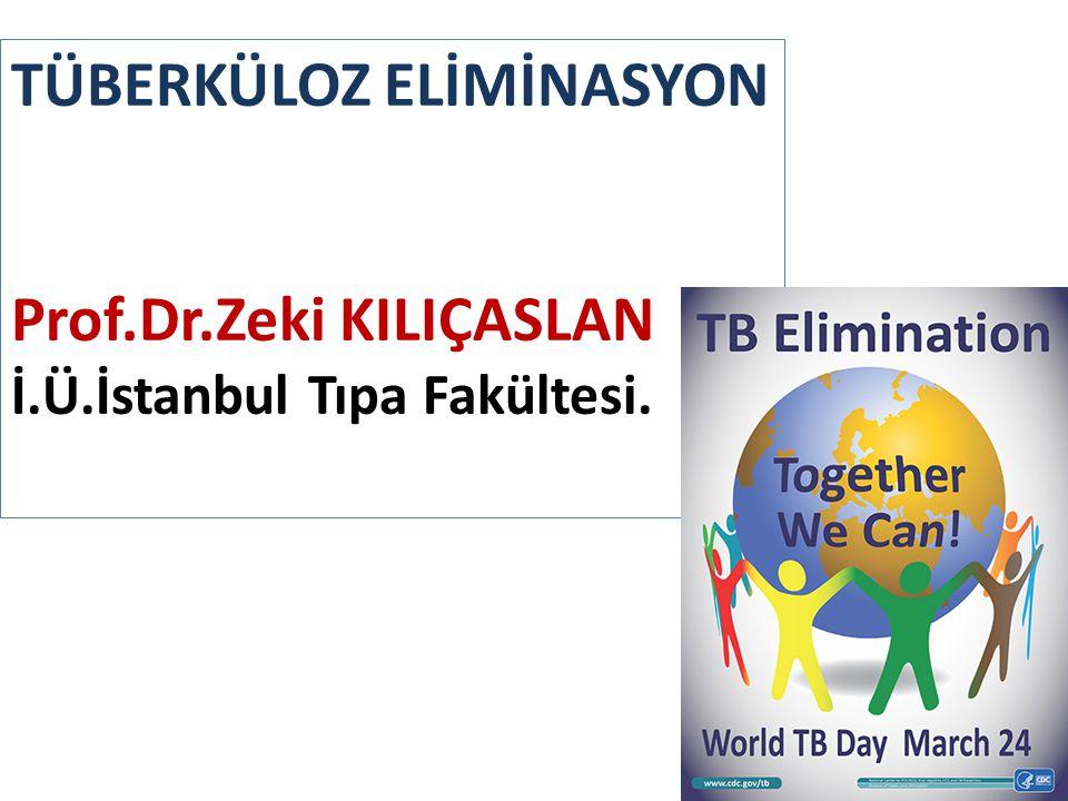 TÜBERKÜLOZ ELİMİNASYON