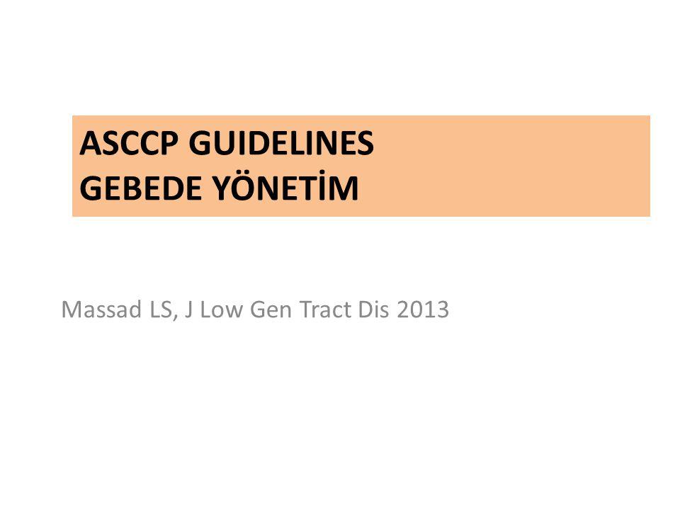 ASCCP Guidelines GEBEDE YÖNETİM