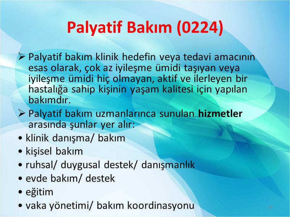 Palyatif Bakım (0224)