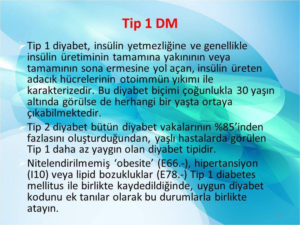 Tip 1 DM
