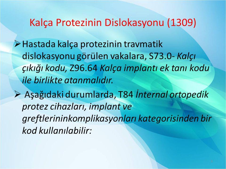 Kalça Protezinin Dislokasyonu (1309)