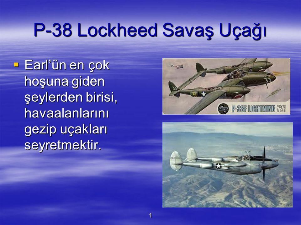 P-38 Lockheed Savaş Uçağı