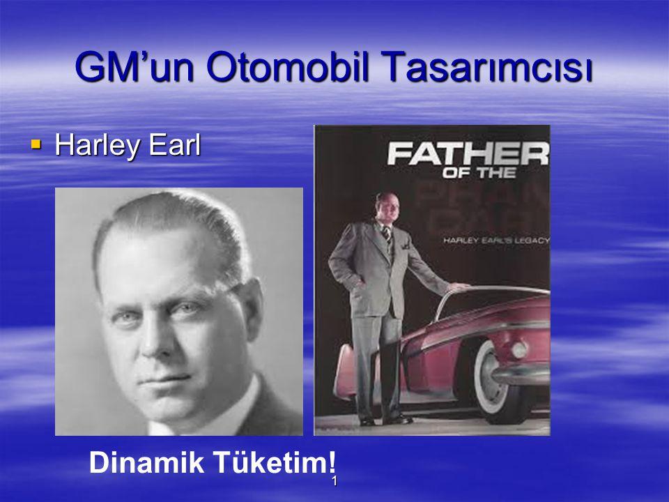 GM'un Otomobil Tasarımcısı