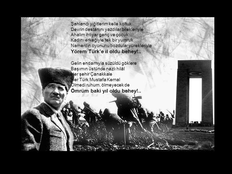 Yörem Türk'e il oldu behey!..