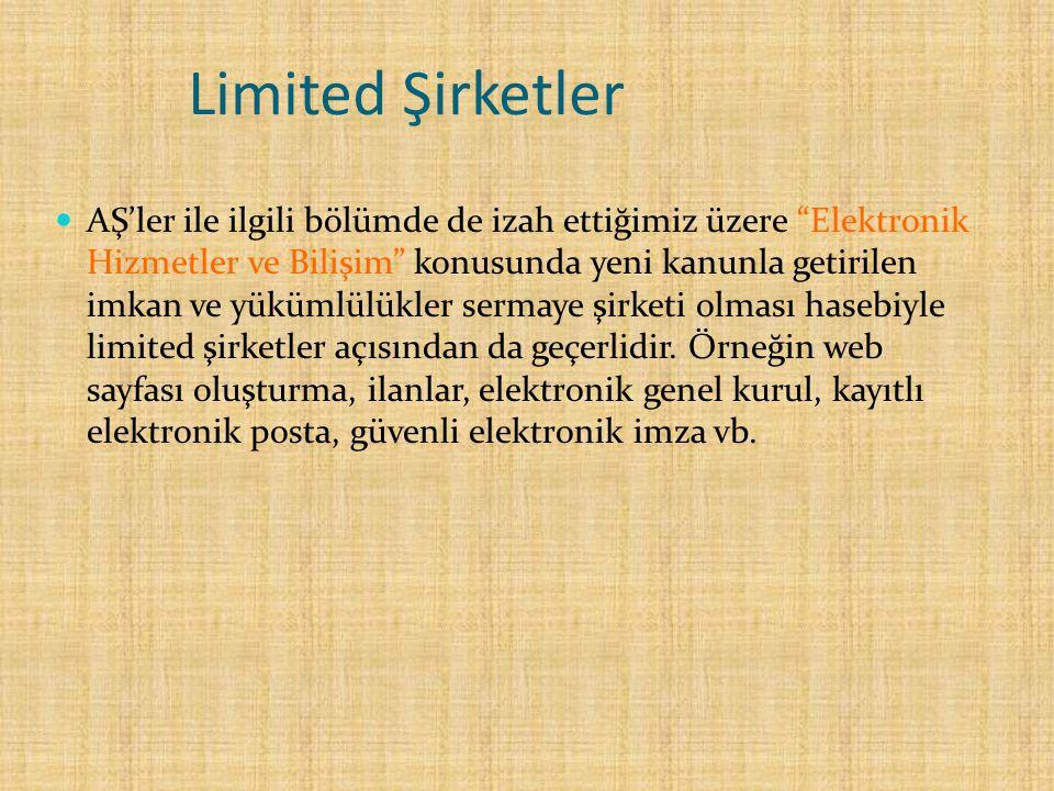 Limited Şirketler