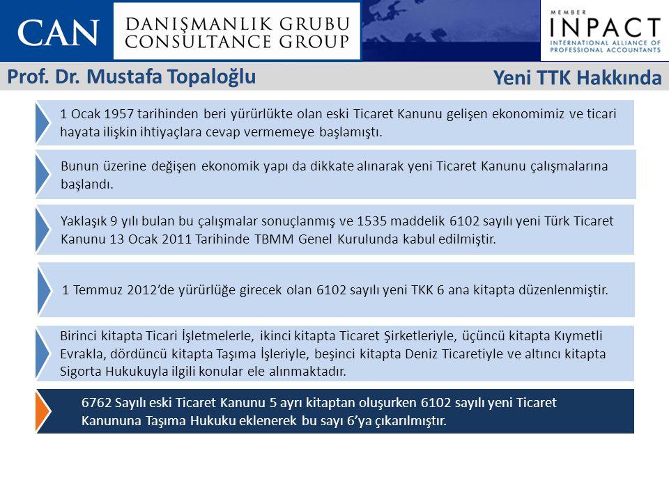Prof. Dr. Mustafa Topaloğlu