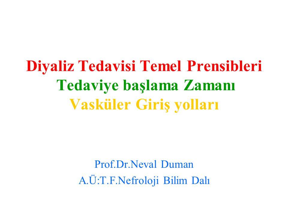 Prof.Dr.Neval Duman A.Ü:T.F.Nefroloji Bilim Dalı
